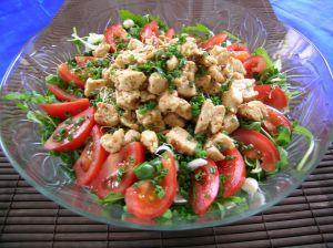 spinach tomato salad