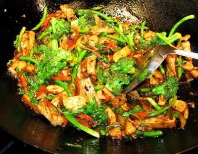 Tofu and Broccoli Stir Fry Recipe - Glycemic Index